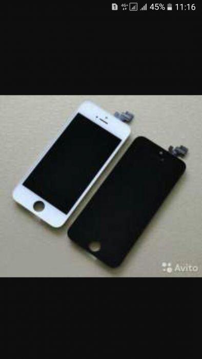 Дисплей на iPhone 4,5,5s/g,6,6s,7+