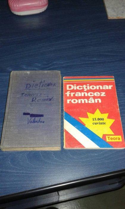 2 x Dictionar Francez-Roman 15000 cuvinte+ , diferite si utile