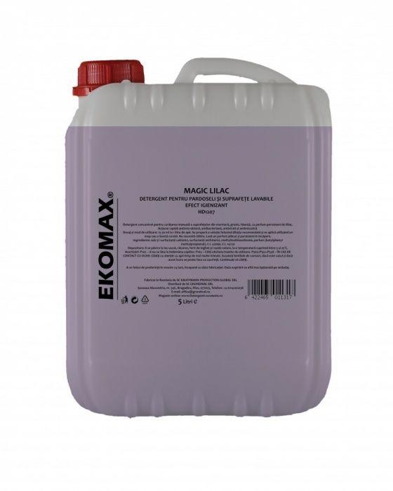 Detergent pardoseli igienizant-Magic Liliac, Canistra 5 L, Ekomax