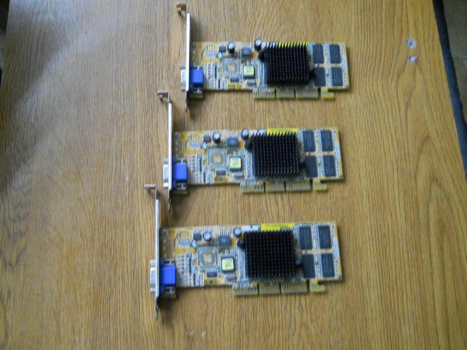 Placa video AGP ASUS V 7100 Pro - GF2 MX 400 - 64 MB