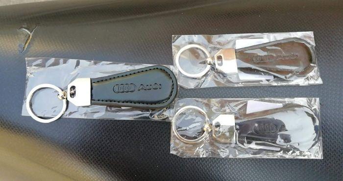 Ключодържател Ауди Audi - кожа и метал