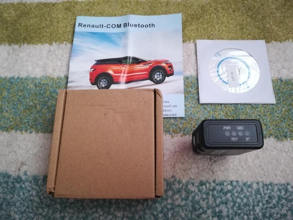 Diagnoza Programare de Reprezentanta Renault - COM Bluetooth Can Clip