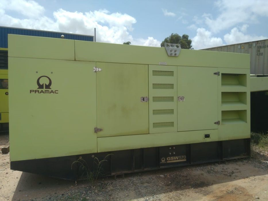 Gerador PRAMAC - 570 kVA - Motor Doosan - NOVO
