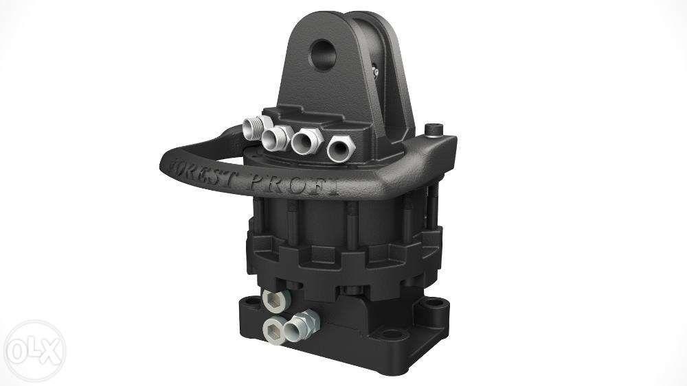 Rotator hidraulic 5 tone cu flansa pentru graifer