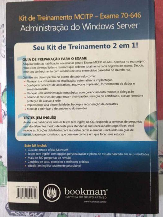 Administração do Windows Server 2008 Exame 70-646 Bairro do Xipamanine - imagem 2