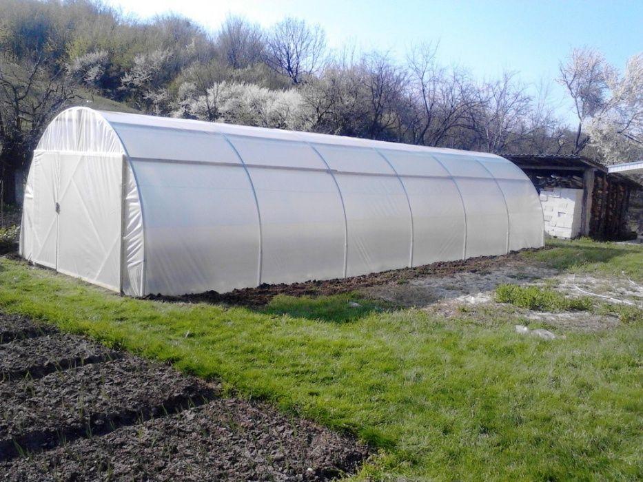 kit solar legume si flori 12 m lungime /4 m deschidere/ 2,6 m inaltime