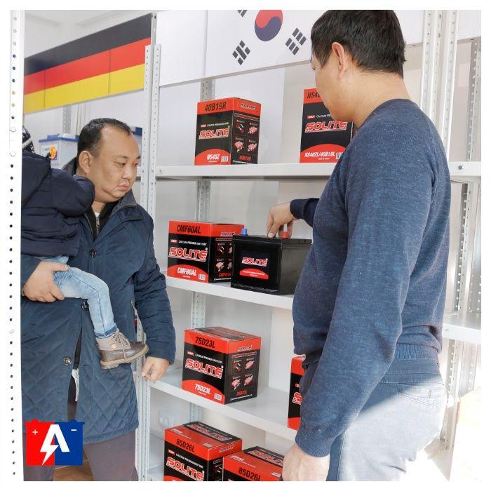 Купить новые аккумуляторы в Алматы. Бесплатная доставка и установка.Ку