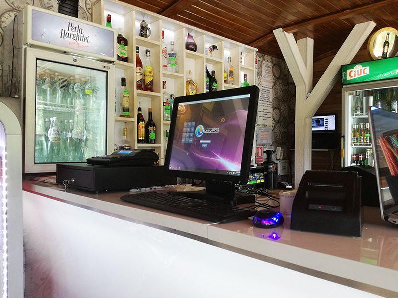 Pachet Pub/Restaurant Gestiune+Vanzare: PC+touchscreen+soft Unity POS