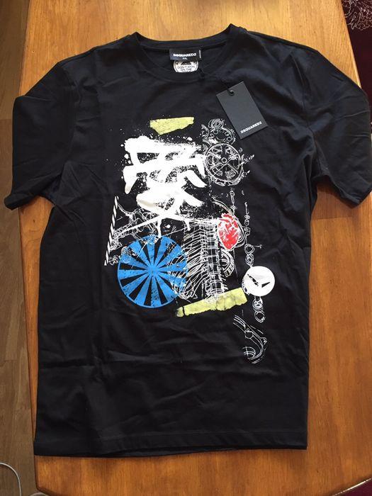 tricou dsquared 2 XXL