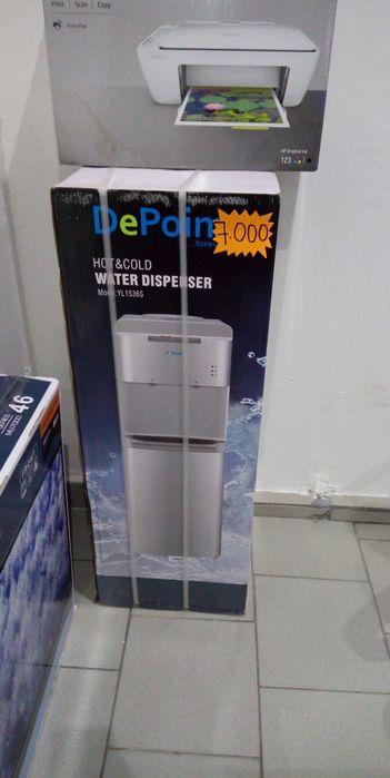 Dispensador de água com garantia