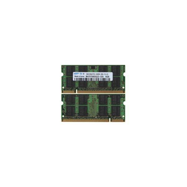 memorie laptop - samsung 2gb 2rx8 pc2 - 5300 - 55 -12-e3