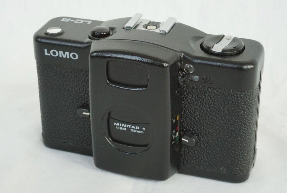 Lomo LC-A, aparat foto cu film, 1984, exceptional