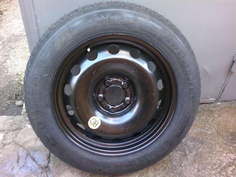 резервна гума патерица 18 и 19цола за бмв X6 и X5 E70 5x120