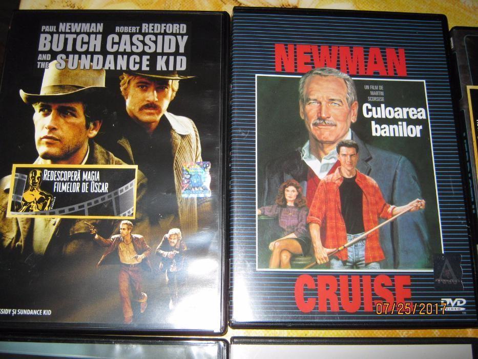PAUL NEWMAN,12 DVD ORIGINALE,Colectie Oscar,Robert Redford,Tom Cruise