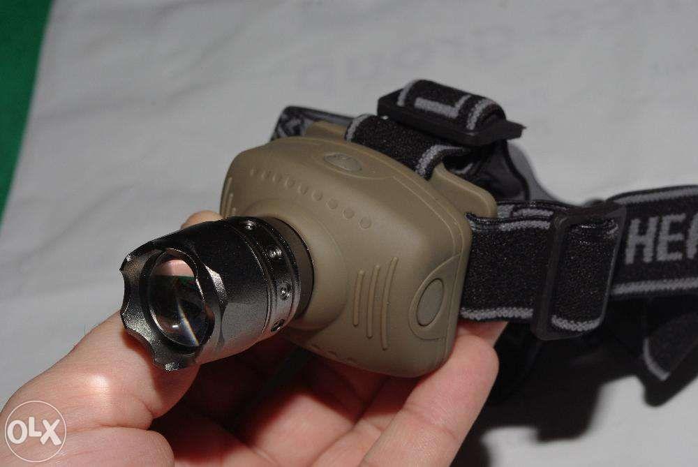 Lanterna frontala de cap cu LED de putere CREE