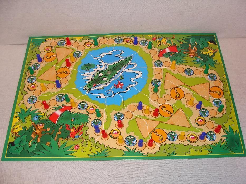 Joc distractiv pentru copii, KROKO si gasca maimutelor!