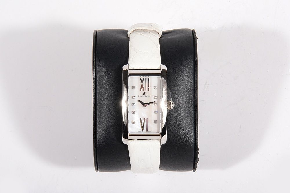 Дамски часовник Maurice Lacroix Mother Of Pearl Dial White Diamonds