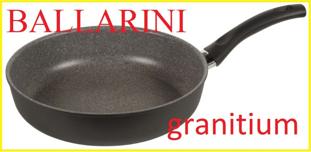 Тиган Ballarini, Модел Salo granitium, 24 см, Thermopoint технология