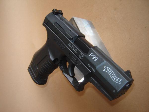 Pistol Airsoft P99 (MODIFICAT SPECIAL) Mecanism Rezisten Full MetalCO2