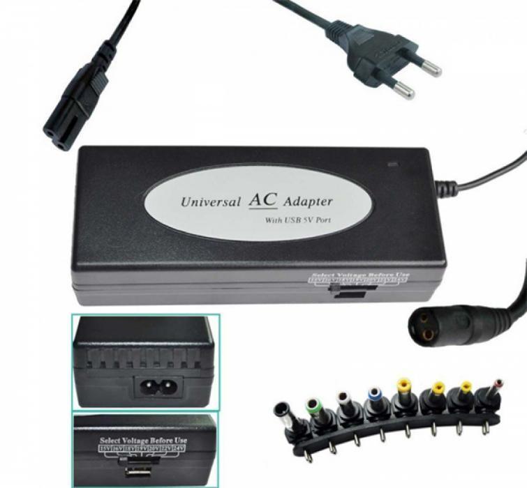 Универсално зарядно за лаптоп 220V / 120W