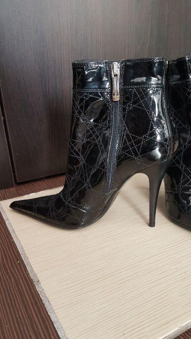 Pantofi Ghete Gianmarco Lorenzi ca noi 10 cm toc