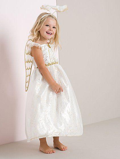 costum/rochie Noua Ingeras Craciun + Coronita Anglia 4-5-6 ani