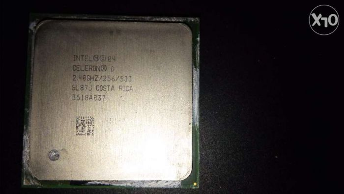 Procesor Intel Celeron D 2,4 Ghz SL87J