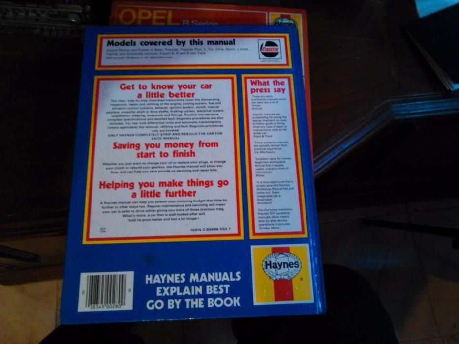 Manual Reparatie Ford Escort - Haynes