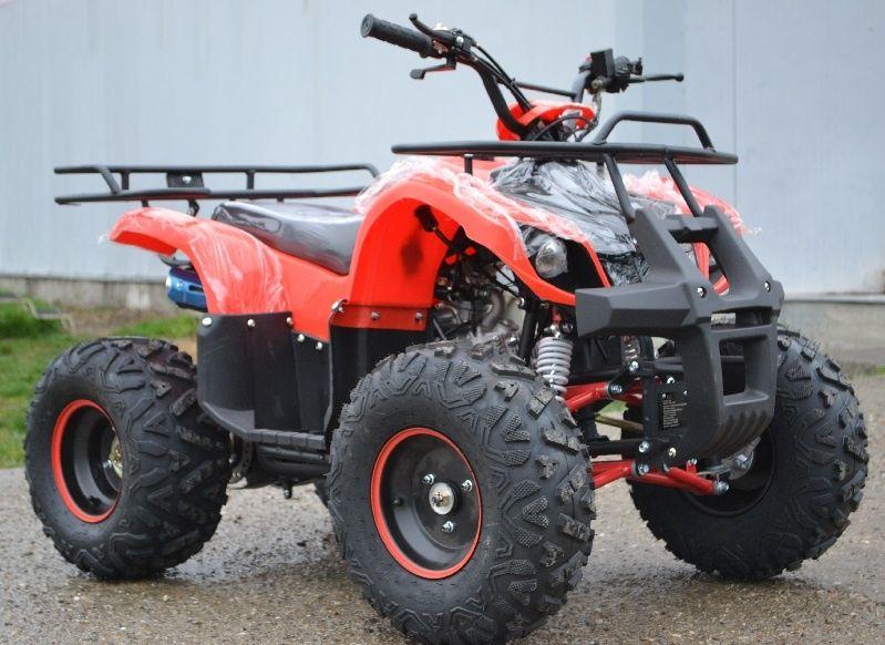 ATV 125cc BARRON Molibden NOU, Import Germania, Casca BONUS