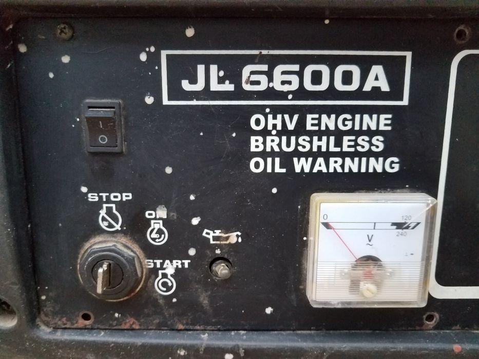 Gerador YAMASU JL 6.600A o motor nunca foi aberto é só trocar a bobina