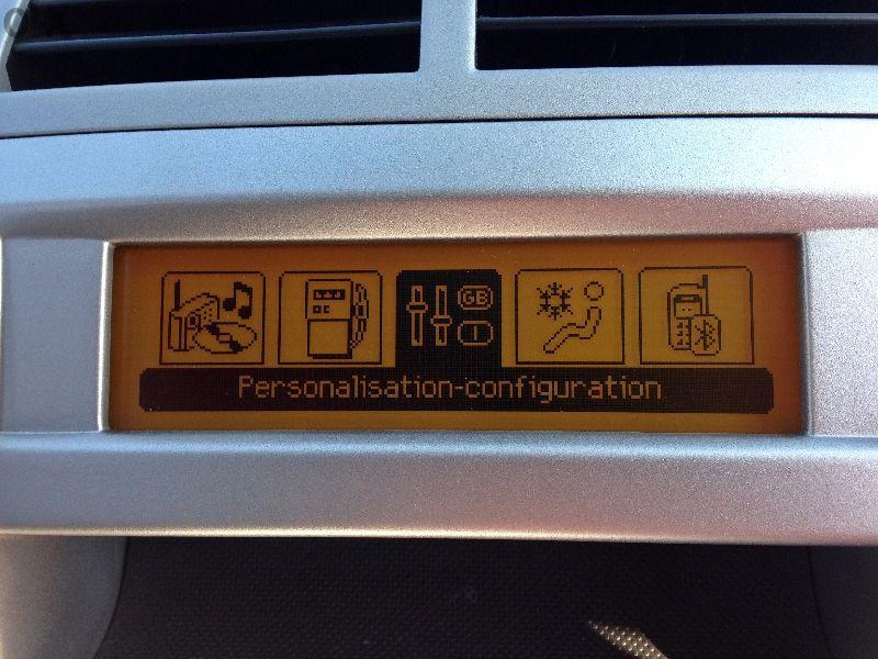 Дисплей за Peugeot 207,307,407,308 & Citroen C2,C3,C4,C5,C8