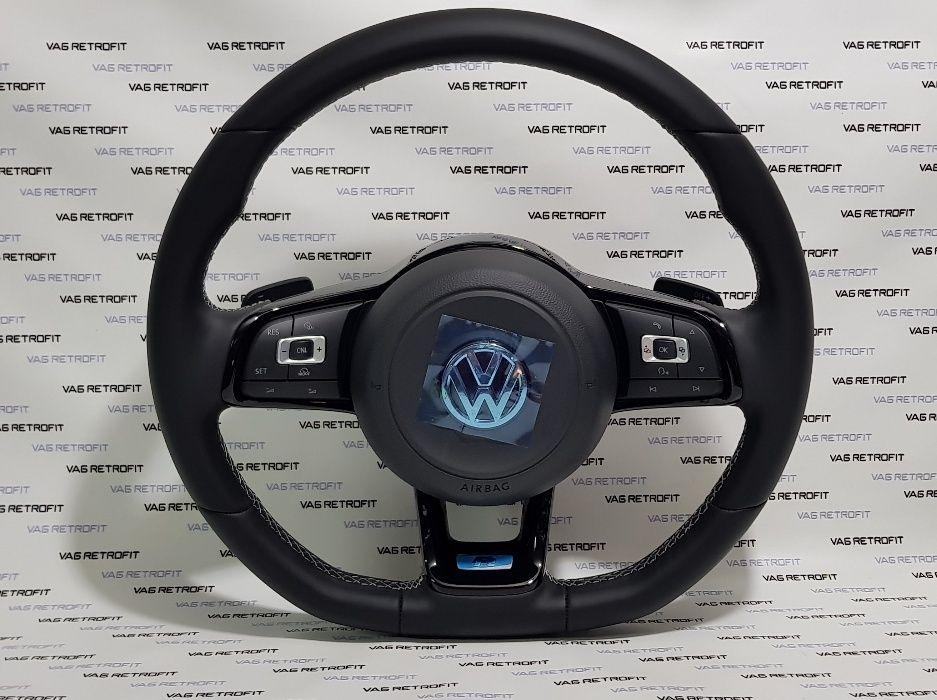 Volan Golf 7 GTI GTD GT R R LINE VOLAN Complet cu airbag