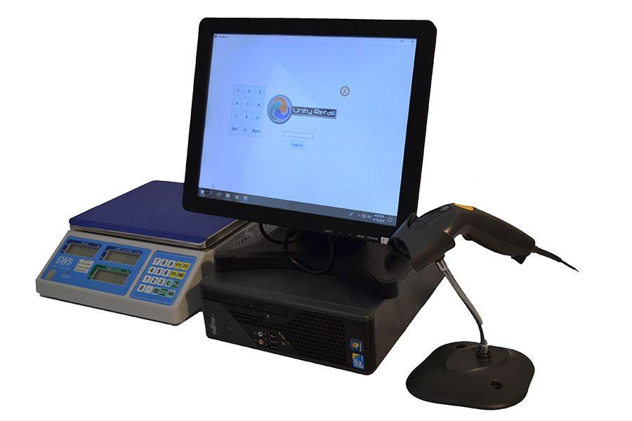 Sistem complet POS Magazin PC+Touchscreen+Soft Vanzare Gestiune Targoviste - imagine 1