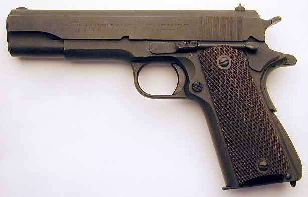 Pistol *Putere modificata la 4J* COLT 1911 (Airsoft GREU FULL METAL)