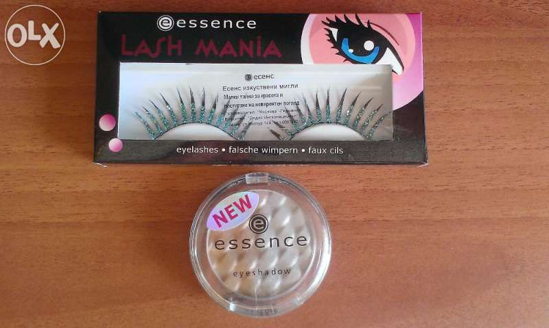 Намалени Изкуствени мигли и сенки за очи Essence