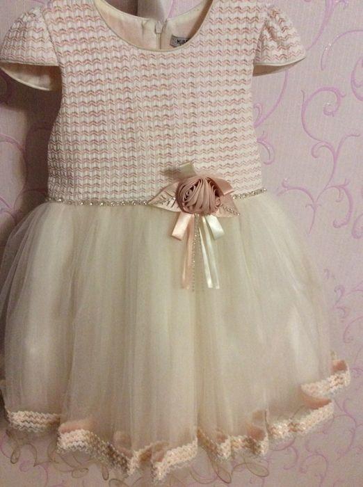 Платье на девочку 5—6 лет