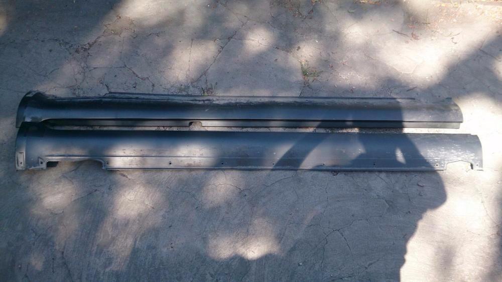 Накладки на пороги Hyndai Tucson `07 оригинал Корея