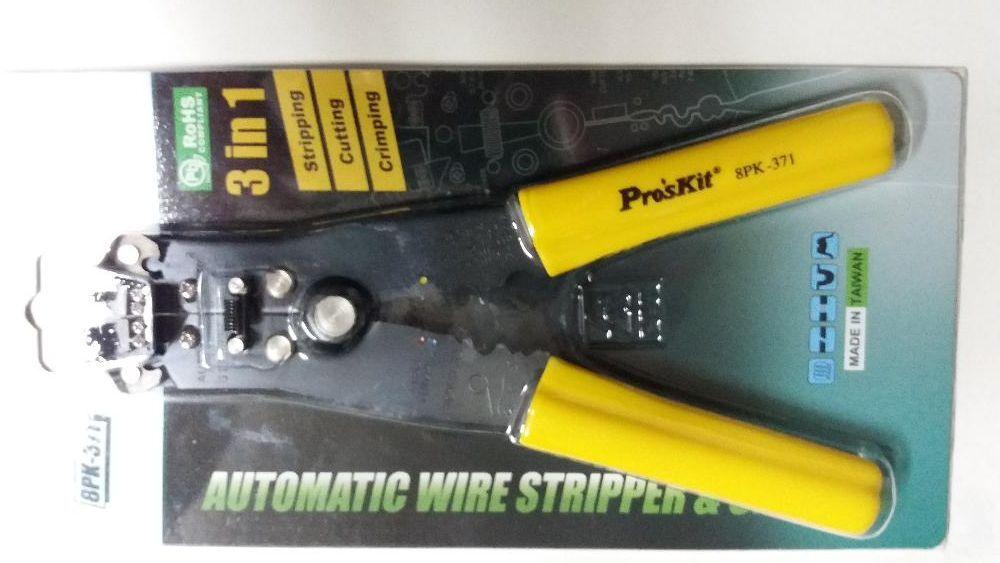 клещи за оголване и кримпване на кабели