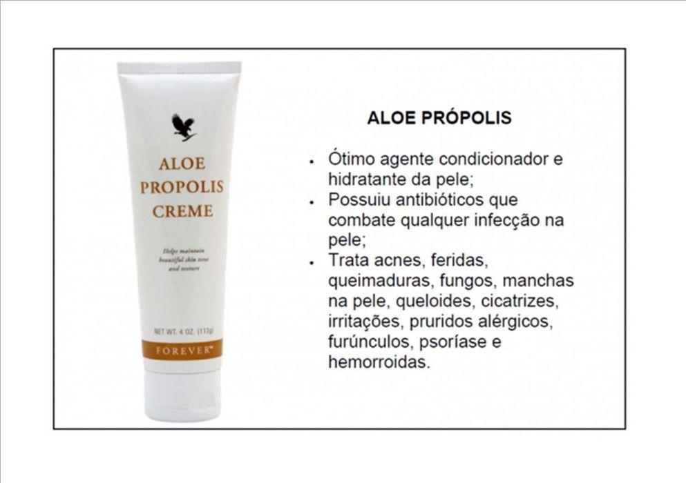 Forever Aloe Própolis - produto natural para problemas da pele