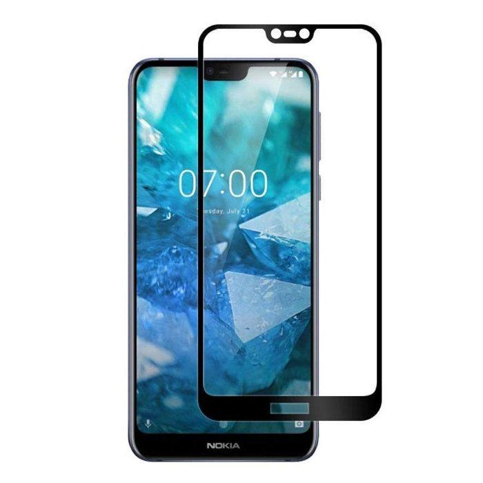 Ултра здрав закален удароустойчив 5D стъклен протектор за Nokia 7.1