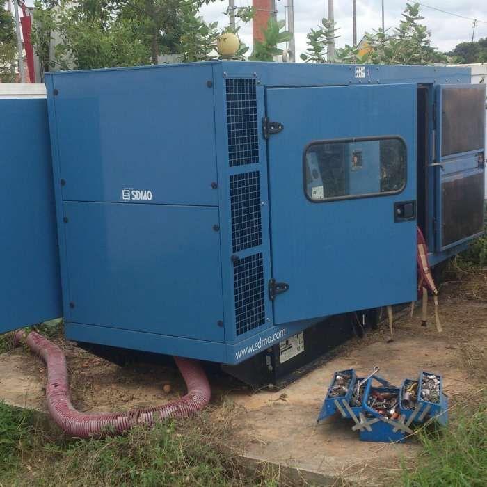 Reparação de gerador industrial