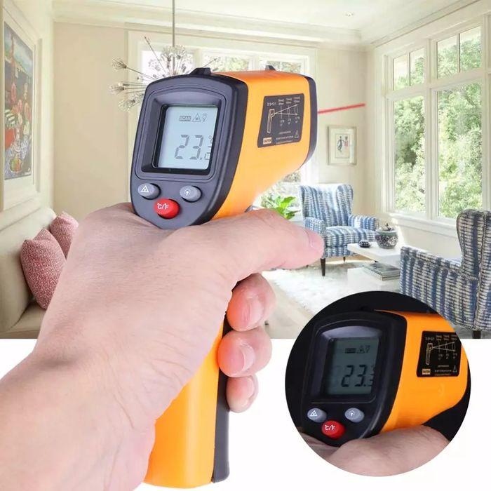 Инфракрасный термометр , барометр, ААА прибор лазерный прицел