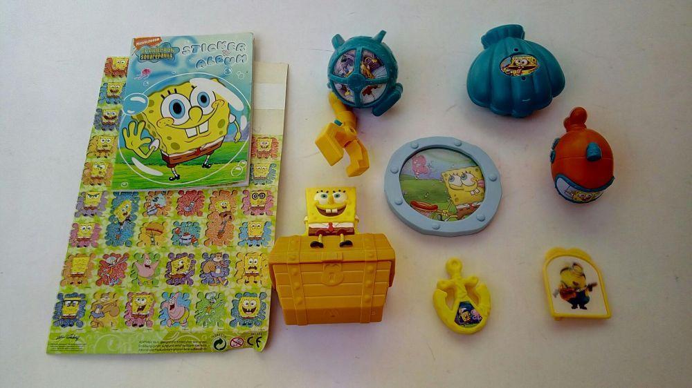 Lot jucarii SpongeBob CD cadou