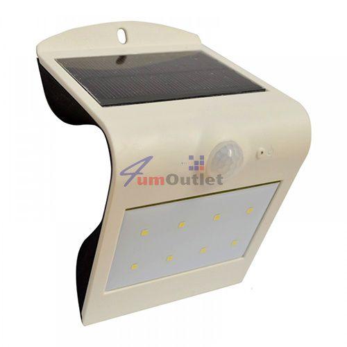 Соларен панел (аплик, осветление) със сензори за движение и осветеност