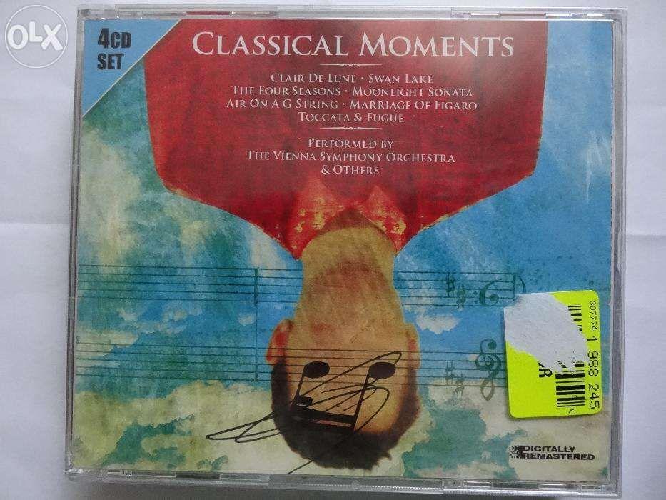 Set CD - Classical Moments - 4 cd