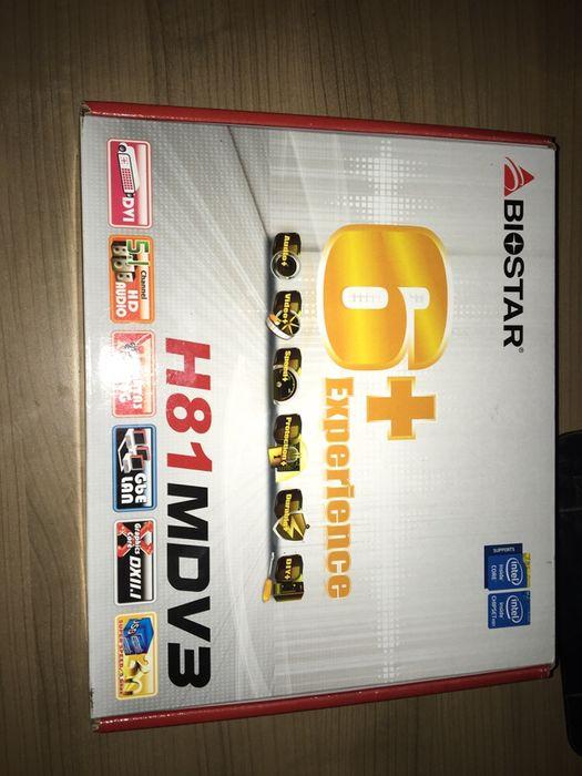 Board Biostar H81MDV3 + Cpu Intel Xeon E3 1231 v3 ( 4cores e 8Treads)