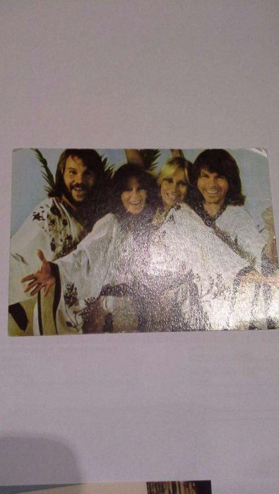 Carte postala FORMATIA ABBA