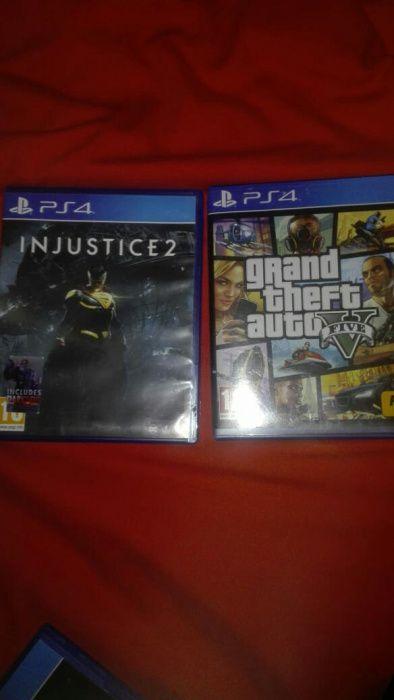 Gta V e injustice 2 a sair