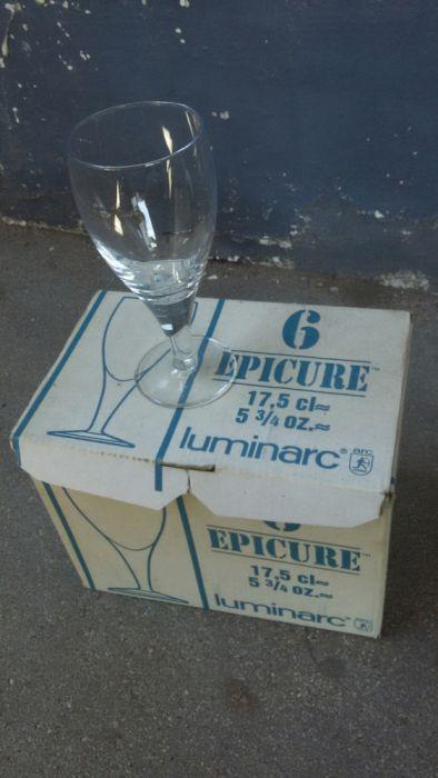 Vende-se copos para vinho. Luminarc