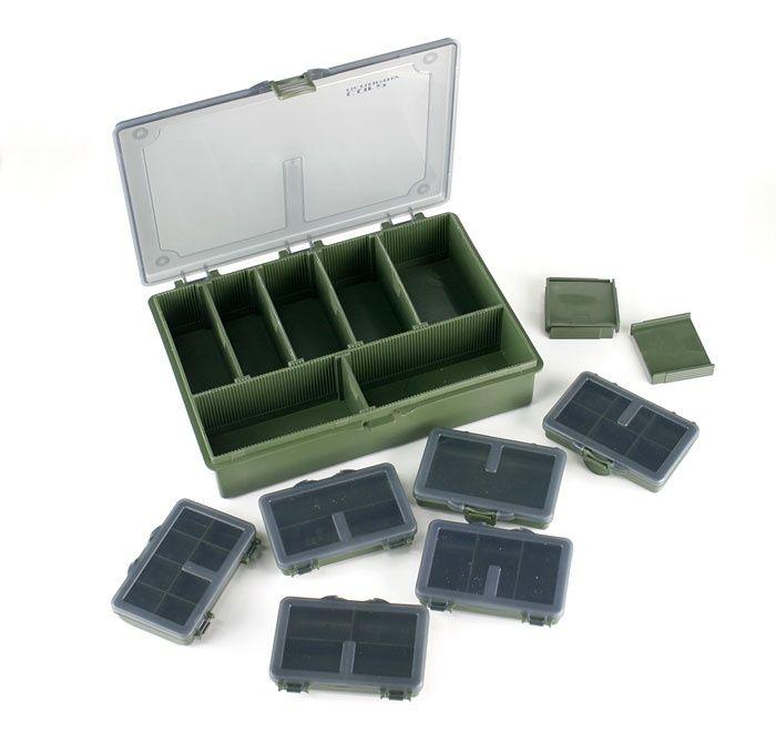 Многофункционална кутия за рибарски такъми CARP ACADEMY MEDIUM